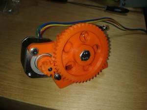 Extruder Front