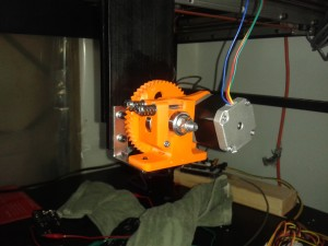 Extruder Mounted